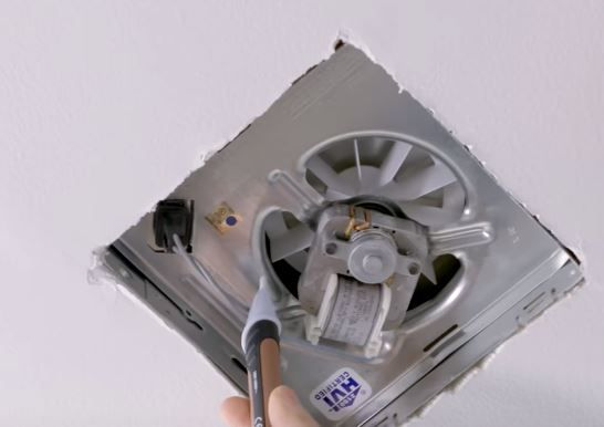 How To Replace A Bathroom Fan Without Attic Access