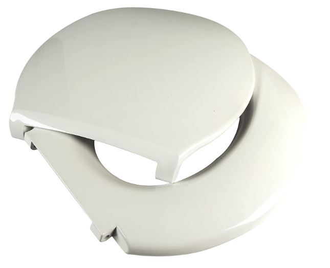 Big John 6-W Oversized Toilet Seat with Cover