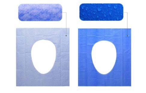 Disposable Toilet Seat Covers - 30 Counts Travel Set Waterproof Individually Wrapped Portable Travel Toilet Seat Covers