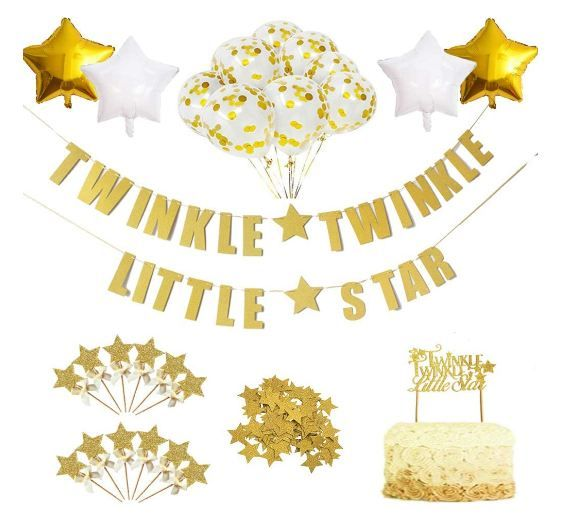 Twinkle Star Theme Party Decorations
