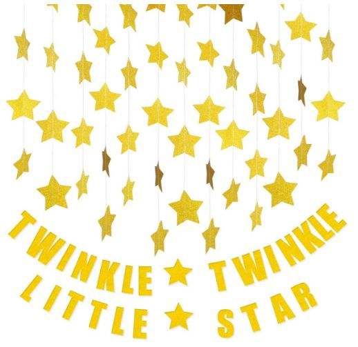 Twinkle Twinkle Little Star Banner Decoration