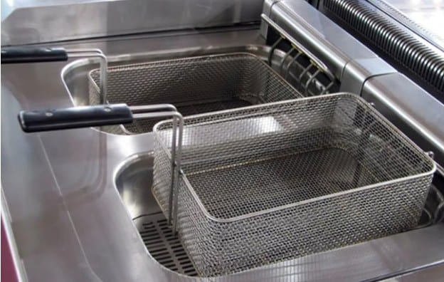 Clean Coil of the Deep Commercial Fryer